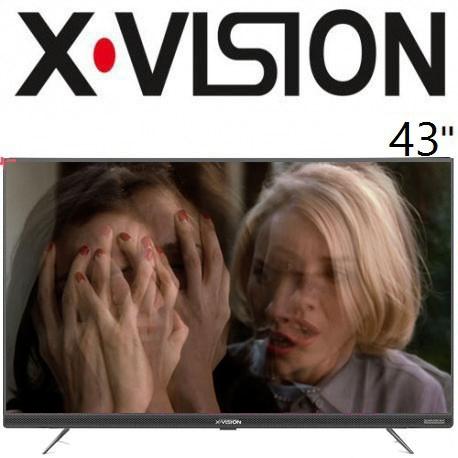 تلویزیون ایکس ویژن 43 اینچ مدل 43xt725