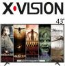 تلویزیون ایکس ویژن ۴۳ مدل 43xk565