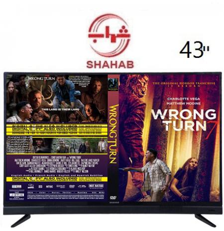 تلویزیون شهاب 43 اینچ مدل 202 اسمارت