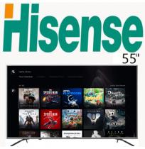 تلویزیون هایسنس b7200 سایز 55 اینچ