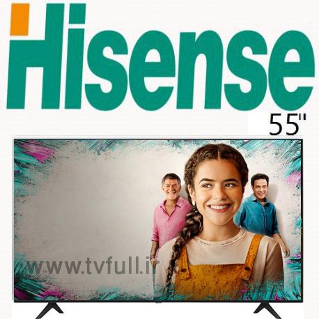 تلویزیون هایسنس 7120 سایز 55 اینچ اسمارت