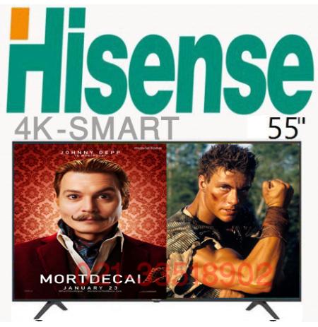 تلویزیون هایسنس b7100 سایز 55 اینچ 4K