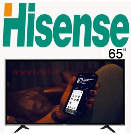 تلویزیون هایسنس a7100 سایز 65 اینچ فورکی