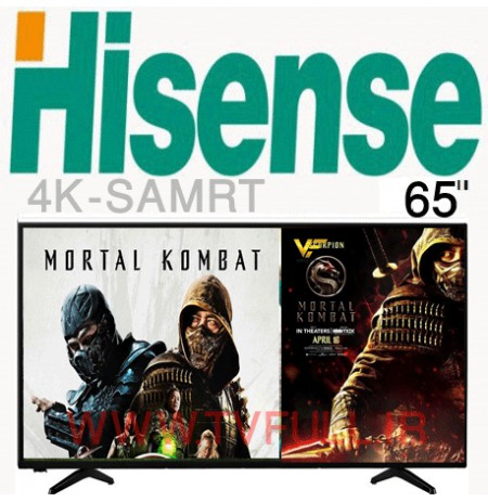 تلویزیون هایسنس a6100 سایز 65 اینچ