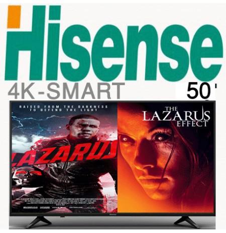 تلویزیون هایسنس 4k سایز 50 فورکی مدل 6100