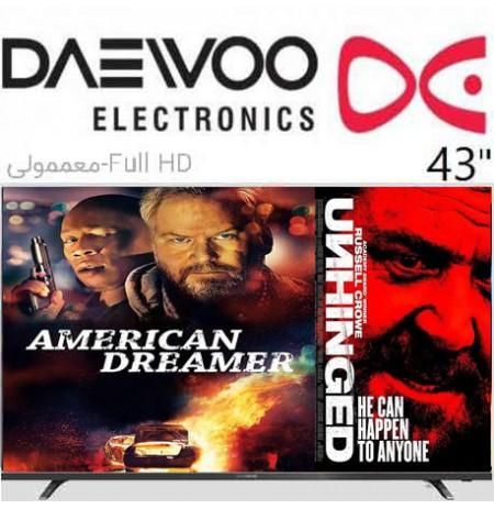تلویزیون led daewoo سایز 43 اینچ مدل 4311