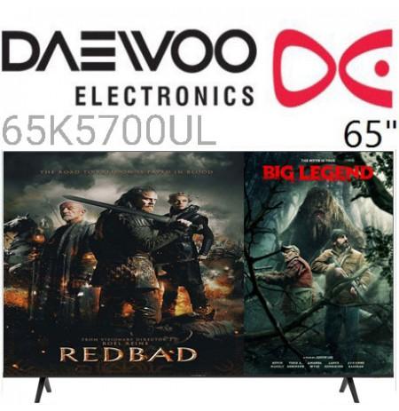 تلویزیون دوو 65k5700ul سایز 65 اینچ هوشمند