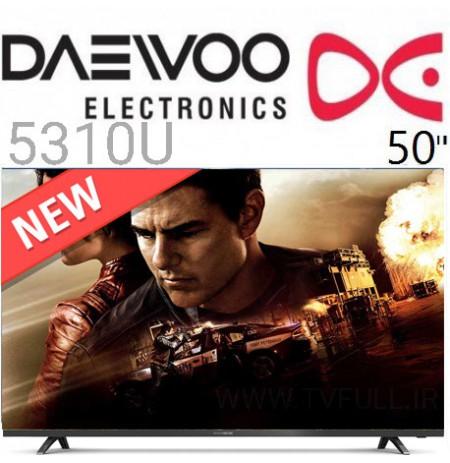 تلویزیون led daewoo سایز 50 اینچ مدل 5310U