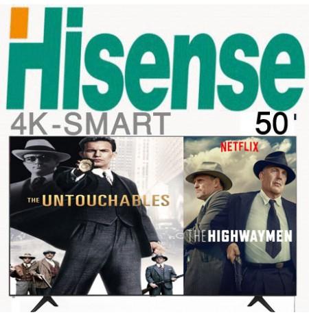 تلویزیون هایسنس 4k سایز 50 اینچ مدل 50A60GMV