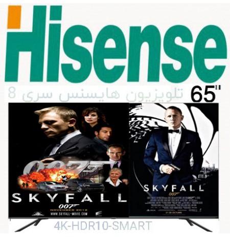 تلویزیون هایسنس 4k سایز 65 اینچ مدل 65H8G