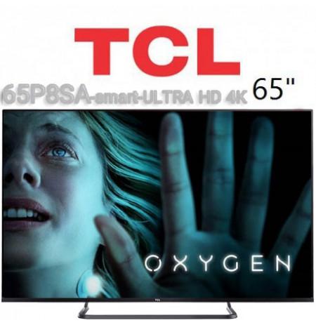 تلویزیون تی سی ال اندروید سایز 65 مدل 65P8SA
