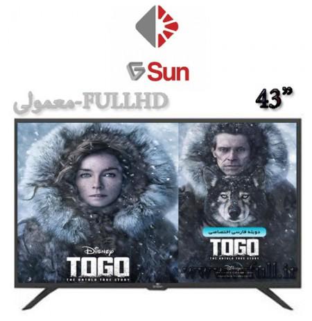 تلویزیون جی سان 43 مدل 2043KC2 معمولی