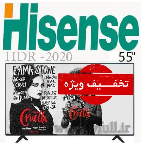 تلویزیون hisense سایز 58 اینچ مدل 58R6E3