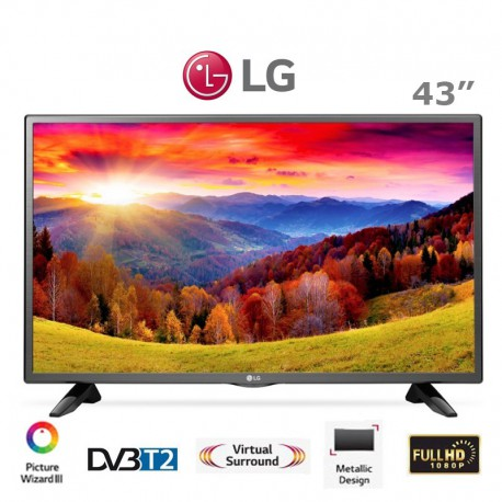 تلویزیون ال جی 43 اینچ مدل LH51300GI