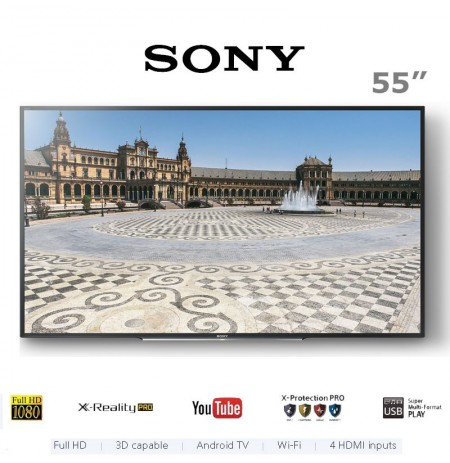 تلویزیون سونی 55 اینچ مدل W650D