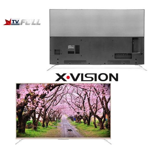 کیفیت تلویزیون ایکس ویژن سایز 55 اینچ مدل XTU815