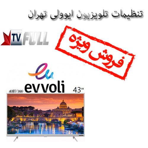 تنظیمات تلویزیون ایوولی تهران