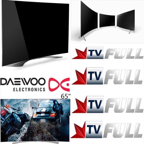 فروش تلویزیون دوو 65 اینچ منحنی مدل 9000